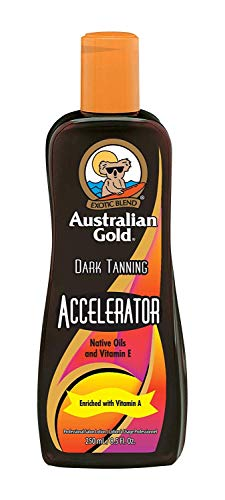 Australian Gold Dark Tanning Accelerator Lotion, 8 Fluid Ounce