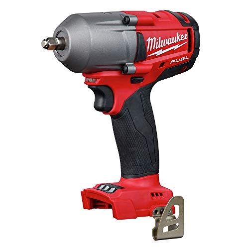 Milwaukee 2852-20 M18 Fuel 18-Volt Lithium-Ion Brushless Cordless Mid Torque 3/8 in. Impact Wrench with Friction Ring (Tool-Only)