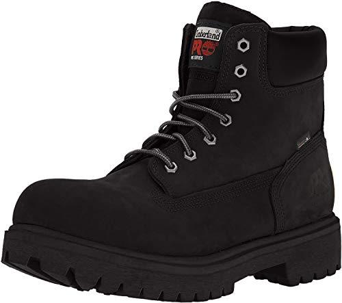 Timberland PRO Men's 26038 Direct Attach 6' Steel Toe Boot,Black,10 M