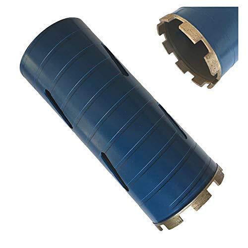 Dry Drill Core Bits for Brick, Concrete Block, Masonry - 4' Diameter 5/8'-11 Threaded #30/40 Diamond Grit