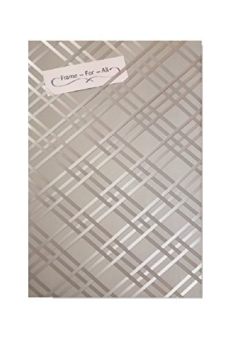 Bulletin-Memo Board and Picture Frame: Shades of Gray - Style #4 (Large (20' x 30'))