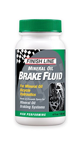 Finish Line High Performance Mineral Oil Brake Fluid, 4 oz