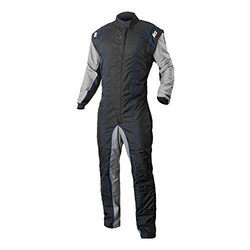 K1 Race Gear 10-GK2-B-LXL CIK/FIA Level 2 Approved Kart Racing Suit (Blue, Large/X-Large)