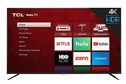 TCL 4K Smart LED TV, 65' (65S425)