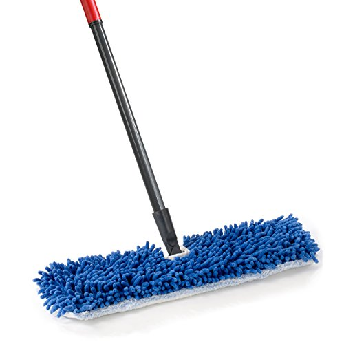 O-Cedar Dual-Action Microfiber Flip Mop with Telescopic Handle