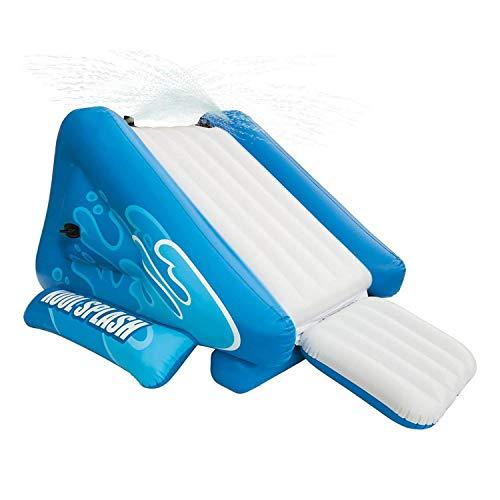 Alek...Shop Water Slide Accessory Play Swimming Pool Inflatable Splash Slide Kids Easy Fun Game Family Center Slide