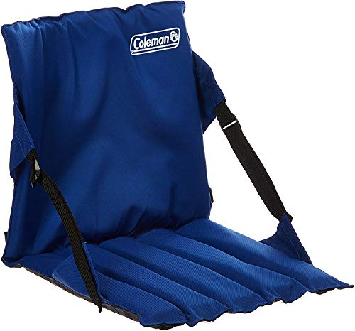 Coleman Portable Stadium Seat | Bleacher Cushion with Backrest | Lightweight Padded Seat Cushion