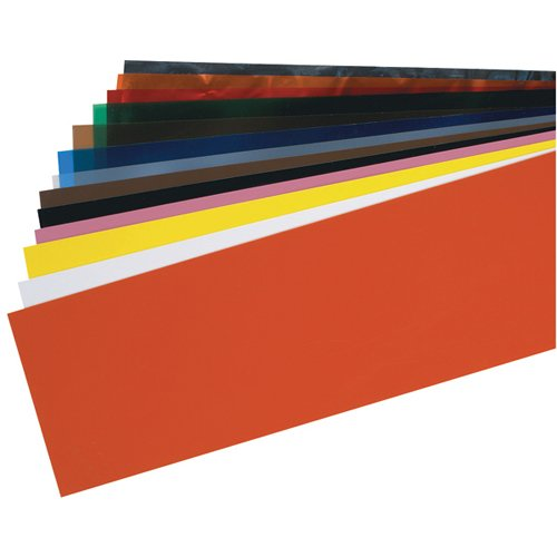 TTC PSS5A 14 Piece Plastic Shim Stock Assortment-5' x 20' Color Coded Sheets