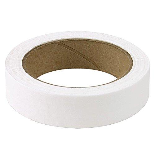3/4' White Colored Premium-Cloth Book Binding Repair Tape | 15 Yard Roll (BookGuard Brand)