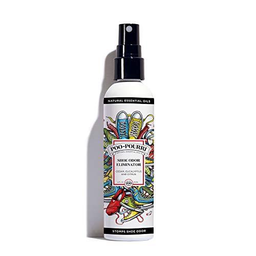 Shoe-Pourri Shoe Odor Eliminating Spray, 4 oz Bottle