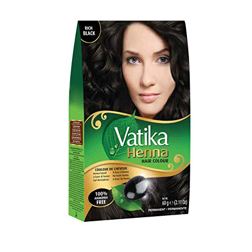 Dabur Vatika Henna Hair Color - Black