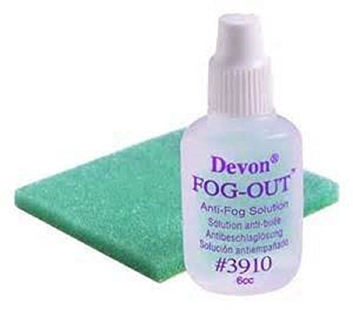 Covidien 31142527 Devon Anti-Fog Solution with Foam Pad (Pack of 12)