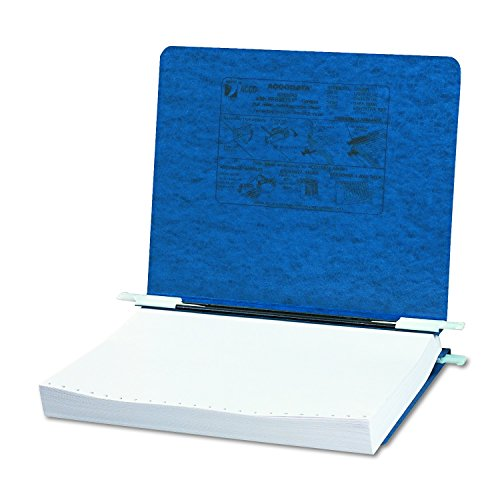 ACCO Pressboard Hanging Data Binder, 8.5 x 11 Unburst Sheets, Dark Blue (54123)