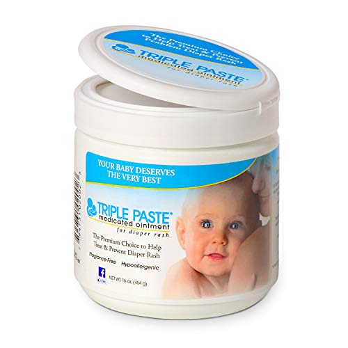 Triple Paste Medicated Ointment for Diaper Rash, 16-Ounce