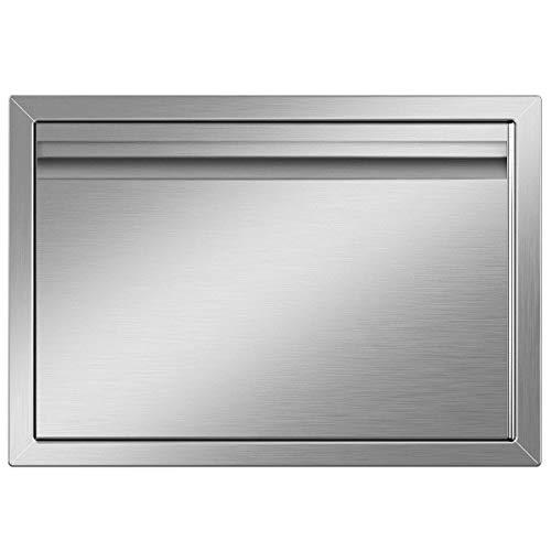 YITAHOME Outdoor Kitchen Grill Access Door, 20' W x 14' H Stainless Steel BBQ Access Door for Outdoor/Indoor Kitchen, Grill Station, Barbecue Grill,Recessed Handle