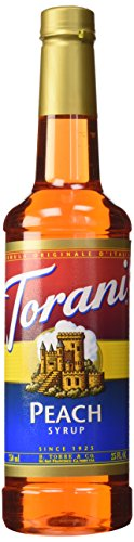 Torani Syrup, Peach, 25.4 Ounce (Pack of 1)