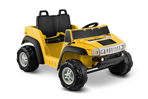 Kid Motorz 12V Hummer H2 Two Seater Ride On, Yellow