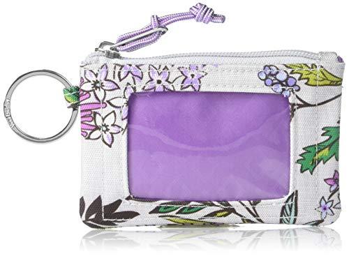 Vera Bradley Lighten Up Zip, Lavender Botanical