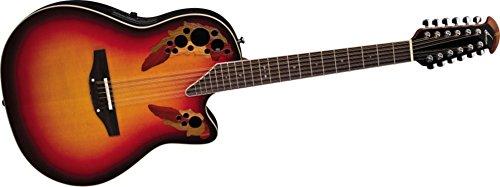 Ovation Standard Elite 2758AX 12-string Acoustic-electric Guitar, New England Burst