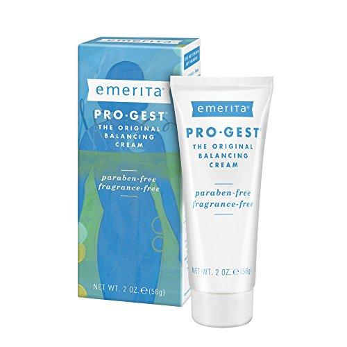 Emerita Pro-Gest Balancing Cream | The Original Progesterone Cream | for Optimal Balance at Midlife | 2 oz
