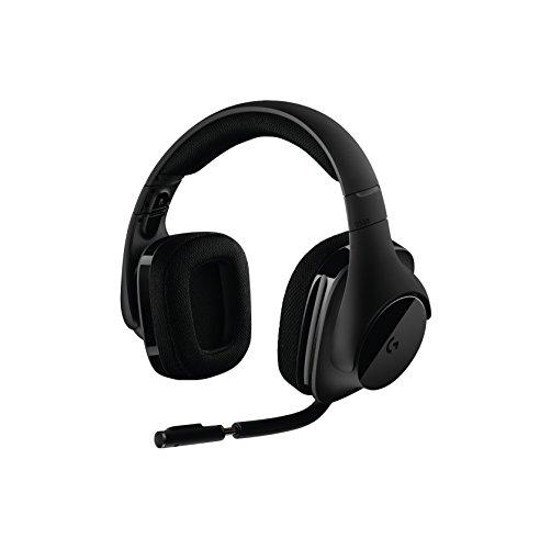 Logitech G533 Wireless Gaming Headset  DTS 7.1 Surround Sound  Pro-G Audio Drivers