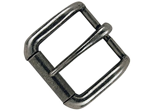 Tandy Leather Napa Buckle 1-1/2' (38 mm) Antique Nickel Plate 1643-21