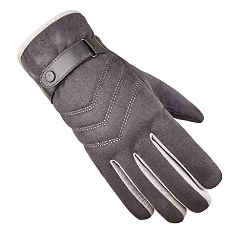 BXzhiri_Accessories Gloves, Fashion Driving Keep Warm Winter Knit Gloves Touchscreen Anti-Slip Warm Thermal Soft Lining Winter Gloves for Men and Women