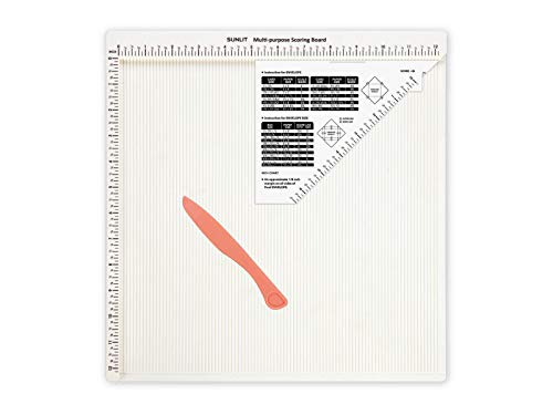 Bira Craft 12 X 12 inch Multi-Purpose Scoring Board & Score and Fold Tool