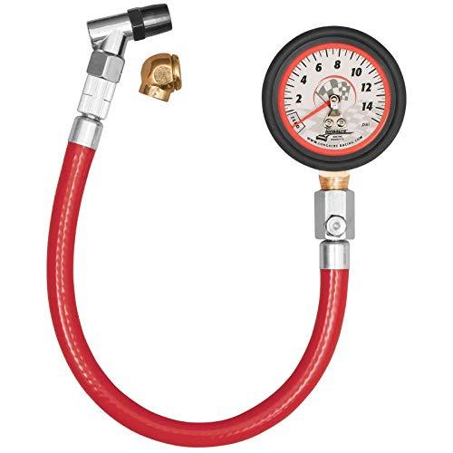 Longacre 52034 Analog 2' Tire Gauge 0-15 psi