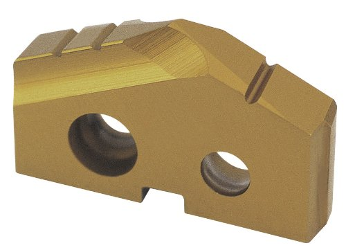 YG-1 S062 Cobalt Steel Throw Away Spade Drill Insert, TiN Finish, 1-1/4' Diameter, 3/16' Thick (Pack of 1)