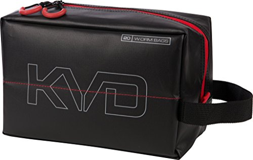 Plano PLAB11700 KVD Worm Speedbag, Black/Grey/Red, Small (holds 20 worm bag)