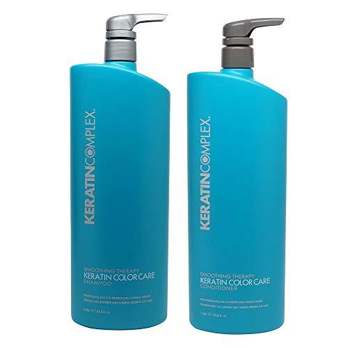 Keratin Complex Color Care Smoothing Shampoo & Conditioner 33.8 OZ Set