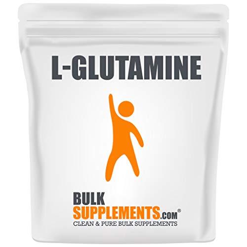BulkSupplements.com L-Glutamine (500 Grams - 1.1 lbs - 500 Servings)