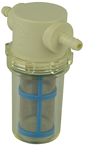 1/4' Hose Barb in-Line Strainer with 50 mesh Stainless Steel Filter Screen