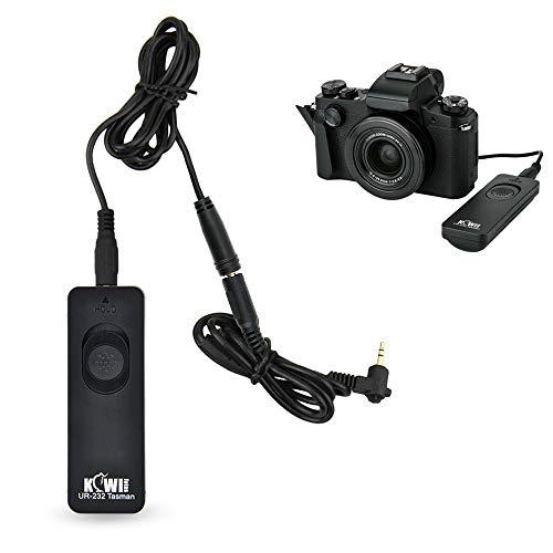 Kiwifotos RS-60E3 Remote Switch Shutter Release Cord for Canon EOS Rebel T6 T7 T5 T8i T7i T6s T6i T5i T4i T3i T2i T1i SL3 SL2 SL1,EOS 90D 80D 70D 77D 60D,EOS RP R M5 M6 Mark II SX70 HS SX60 HS & More