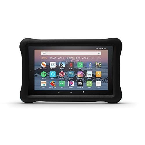 Amazon Kid-Proof Case for Amazon Fire HD 8 Tablet (Compatible with 7th and 8th Generation Tablets, 2017-2018 Releases), Black