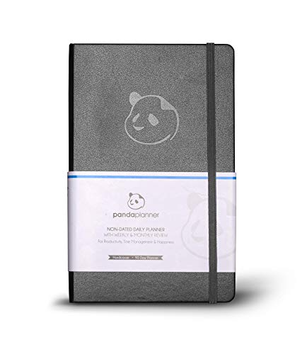 Daily Planner 2020-2021 by Panda Planner I Organizer Planner for Goals, Gratitude & Focus I Weekly & Monthly Agenda I Undated Day Planner I The Only Planner Endorsed by Top Psychologists