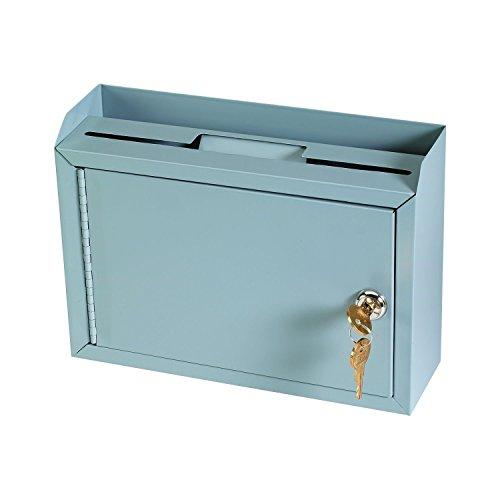AdirOffice Multi Purpose Wall Mountable Suggestion Box, 9.75' x 7' x 3'