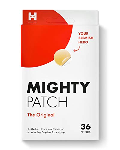 Mighty Patch Original - Hydrocolloid Acne Pimple Patch Spot Treatment (36 count) for Face, Vegan, Cruelty-Free
