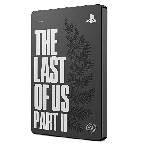Seagate Game Drive for PS4 2TB External Hard Drive Portable HDD - USB 3.0 The Last of Us II Special Edition, Designed for PS4 (STGD2000103)