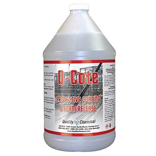 Q-Cote - Paraffin-based - Concrete Form Release Agent-1 gallon (128 oz.)