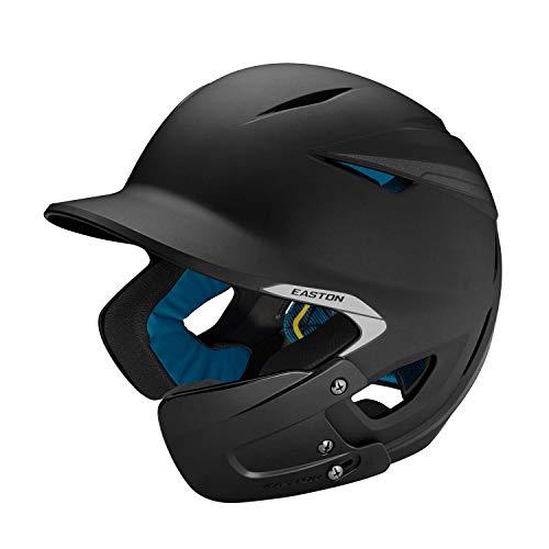 EASTON PRO X Baseball Batting Helmet with JAW GUARD | Right Handed Batter | Junior | Matte Black | 2020 | Multi-Density Impact Absorption Foam | High Impact Resistant ABS Shell |BioDRI Liner