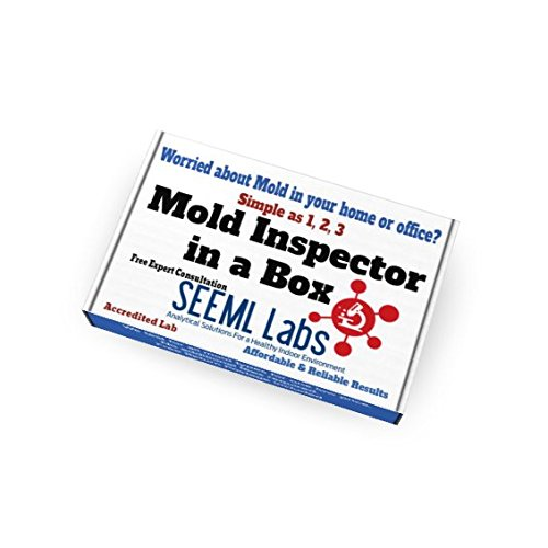 DIY Mold Test Kit (3 Tests) Expert Consultation and AIHA-LAP, LLC Accredited Lab Analysis Included