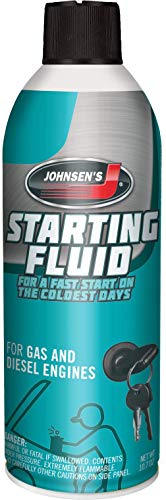 Johnsen's 6762-12PK Starting Fluid - 10.7 oz., (Pack of 12)
