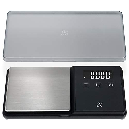 GreaterGoods Digital Pocket Scale, Gram Scale, Ounce Scale, Letter Scale, 750g X .1g Accuracy