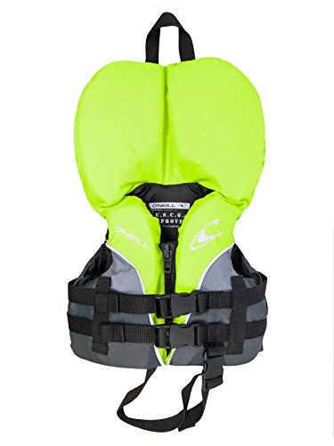 O'NEILL Superlite USCG Nylon Infant Life Vest Lime/Graphite/Smoke (4727)