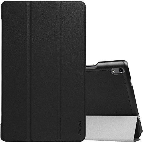 ProCase Lenovo Tab 4 8 Plus Case, Slim Stand Hard Shell Smart Cover Case for 2017 Lenovo Tab 4 8' Plus Android Tablet ZA2H0000US -Black