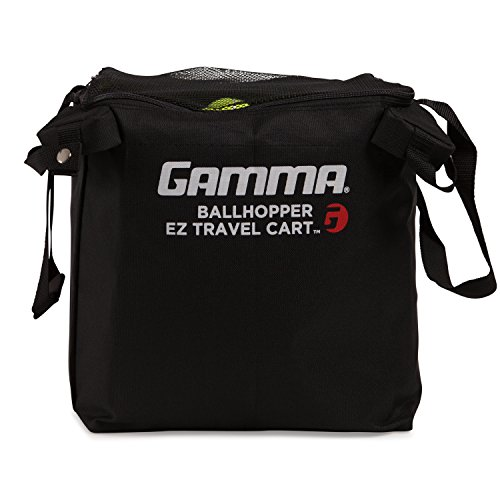 Gamma Sports EZ Travel Cart Pro Ball Hopper, Holds 150 Balls