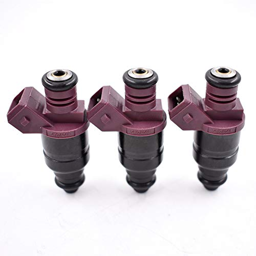 labwork-parts New 3 Pcs Fuel Injectors Fit for John Deere 825i Gator 3 Cylinder MIA11720 5WY2404A