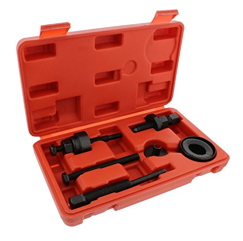 ABN Automotive Power Steering Pump Pulley Remover Installer Tool Kit – Puller Removal Set for GM, Ford, Chrysler Truck